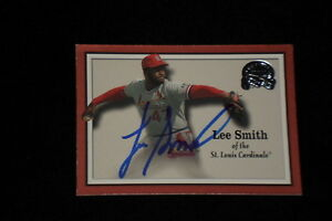 LEE-SMITH-2000-FLEER-GREATS-OF-THE-GAME-SIGNED-AUTOGRAPHED-CARD-32