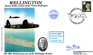 Wellington-FDC-Signed-A-Elvey-Wellingtons-40-Sqn-1941