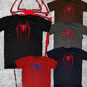 Amazing-Spiderman-Spider-Man-new-logo-Marvel-vintage-look-amp-feel-tee-tshirt