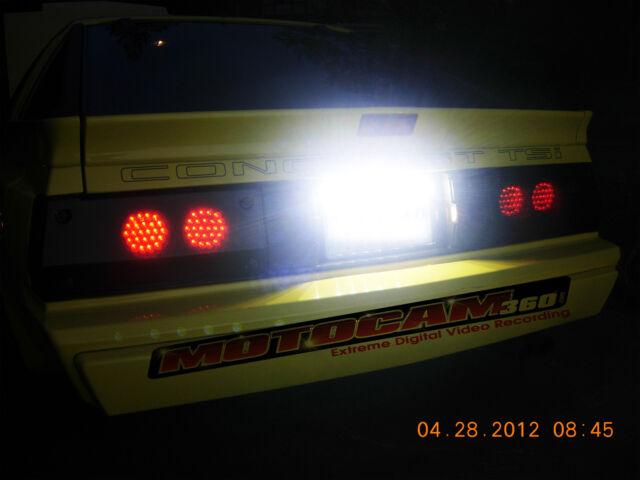 Mitsubishi Starion / Conquest LED Tail light,  LED Brake, LED Turn Signal