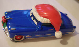 DISNEY-PIXAR-MODELLINO-CARS-DECKED-OUT-DOC-HUDSON-BABBO-NATALE-SENZA-SCATOLA-NEW