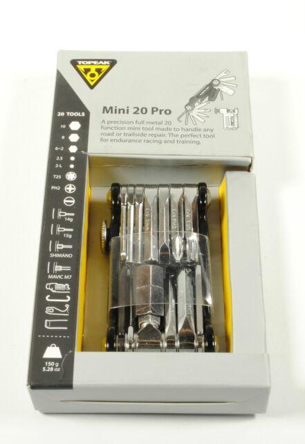 Topeak Mini 20 Pro Multi Tool for Road Bicycle Mountain Bike