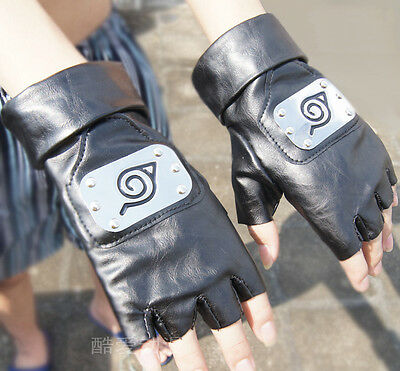 Naruto Anime gloves Anbu Cosplay Costume Konoha BEST KAKASHI