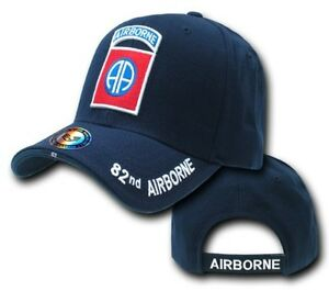 82nd-AIRBORNE-DIVISION-ALL-America-US-Army-Baseball-Gorra-Military-Cap-Sombrero