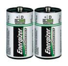 2 x Energizer NH50BP-2 D 2200 mAh Rechargeable Batteries