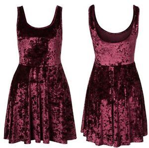2012-New-Women-Ladys-Sexy-Noble-Velvet-Slim-sleeveless-Base-Skirt-Vest-Dress-Jor