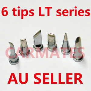 6PCs-Solder-Soldering-Station-Iron-TIPs-LT-Lead-Free-FOR-Weller-WSD81-WSP80