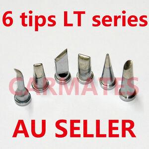 6PCs-Solder-Soldering-Station-Iron-TIPs-LT-Lead-Free-FOR-Weller-WSD81-WSP80