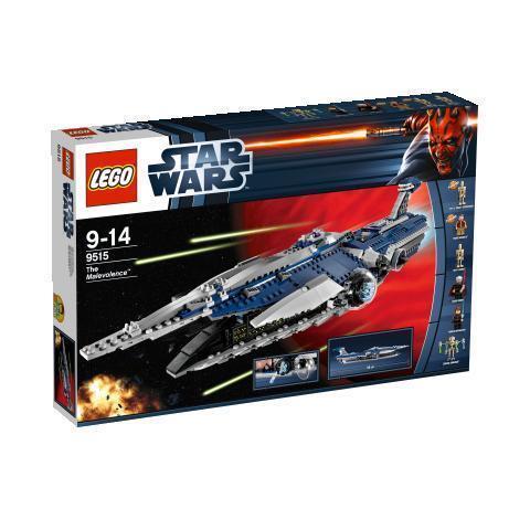 LEGO StarWars The Malevolence (9515) versiegelt Neu OVP MISB