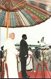 12676-Postcard-Pope-Jean-Paul-in-Africa