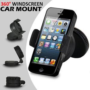 Universal-dans-Car-Mobile-Phone-SAT-NAV-PDA-GPS-Holder-with-indicateur-de-duree-Suction-Mount