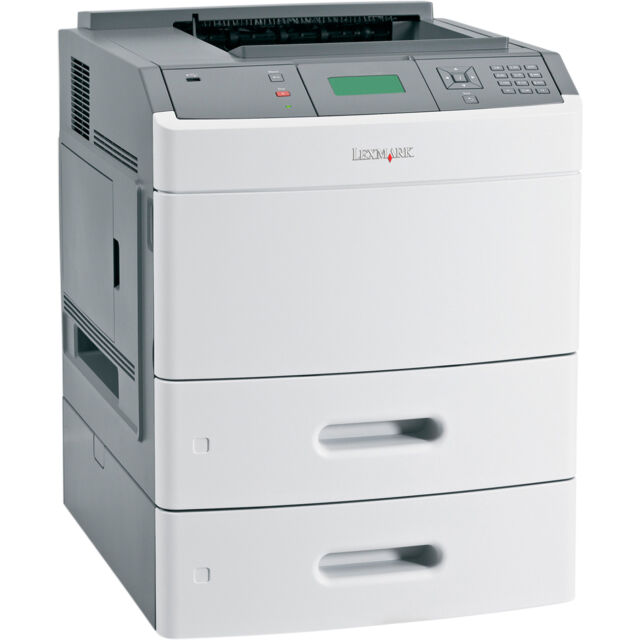 Lexmark T652dtn T652 652 A4 Network Laser Printer with Duplex and Extra tray JM