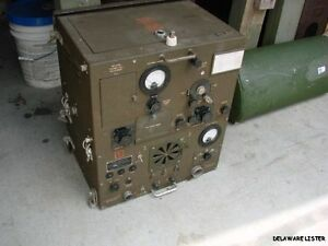 WWII-WW2-MILITARY-RADIO-BC-669-D-COMPLETE-TRANCEIVER