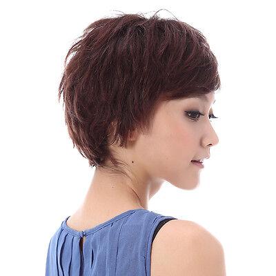 SALE Fashion women lady girl short OL full wig wigs,100% real natural human hair