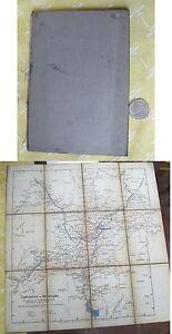Vintage Map,GERMANY,Southern,C.1920,Folding,Umgebungskort Von Berchtestgaden