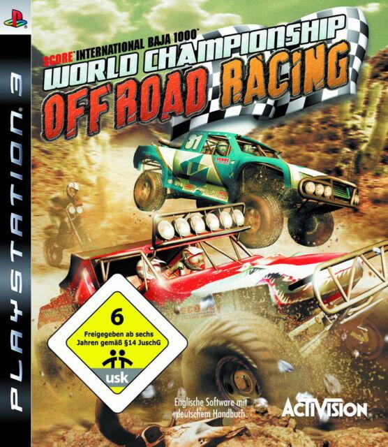 World Championship Off Road Racing (Sony PlayStation 3, 2008)
