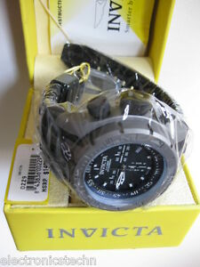 NEW-Invicta-Mens-Coalition-Forces-Swiss-Made-Titanium-Case-Poly-Strap-0229