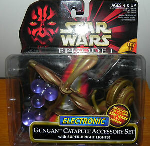 STAR-WARS-EPISODE-I-GUNGAN-CATAPULT-ACCESSORY-SET-NEW-ON-CARD-FROM-1999