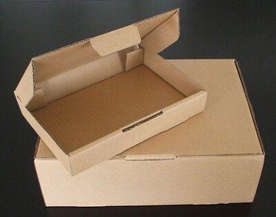 100 x New Die Cut BX1 A5 BC Mailing Shipping Box Carton 220 x 160 x 77mm- Brown