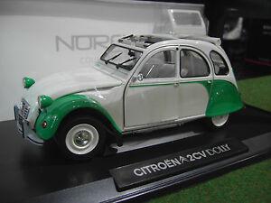 CITROEN-2CV-DOLLY-1985-blanc-vert-1-18-NOREV-181512-voiture-miniature-collection