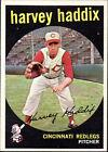1959 Topps Harvey Haddix 184 Baseball Card