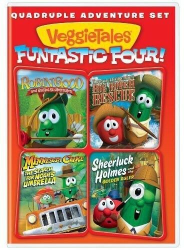 VeggieTales: Funtastic Four [Robin Good and His Not-