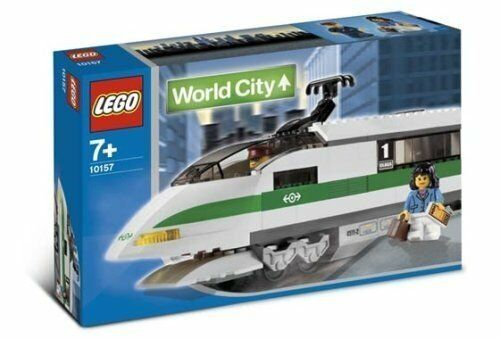 Lego Train 9V World City 10157 High Speed Train Locomotive NEW SEALED