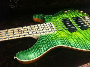 PRS-Gary-Grainger-5-String-034-Jade-Glow-034-Private-Stock-Bass