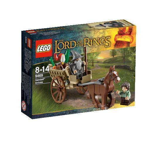 LEGO The Lord of the Rings, Gandalf Arrives Ref. 9469 – Brand New in Sealed Box