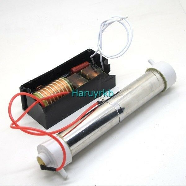 DIY 220v 3g Ozone generator ozone tube + circuit board 3g/hour For water Plant