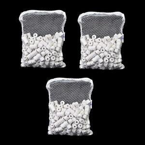 1500g Bio Ceramic Rings in 3 Filter Media Bags for aquarium fish canister filter