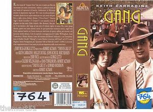 Gang (1974) VHS MGM Video - Keith Carradine Robert Altman Shelley Duvall - Italia - Gang (1974) VHS MGM Video - Keith Carradine Robert Altman Shelley Duvall - Italia