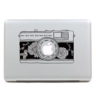 Brand New Camera Apple Macbook Pro/Air Vinyl Decal Laptop  SKin  Sticker