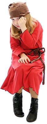 "Snow White ""BASHFUL"" Red DWARF Fancy Dress ALL AGES"