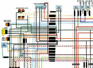 honda cb750k cb750f cb750a sohc 70 78 color wiring nos honda cb750k cb750f cb750a sohc 70 78 color