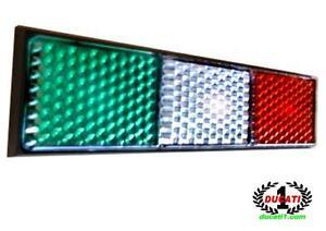 Ducati-Italian-Flag-Reflector-748-1098-Hypermotard-diavel-1199-panigale