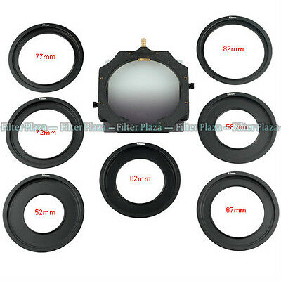 Holder&Metal Adapter ring for LEE Cokin Z Hitech Singh-Ray 4*4 4*5.65 4*5 filter