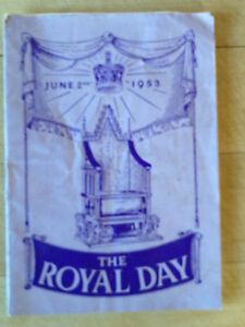 THE ROYAL DAY JUNE 2ND 1953  LORD039S DAY OBSERVANCE SOCIETY  BOOKLET - <span itemprop=availableAtOrFrom>Leeds, West Yorkshire, United Kingdom</span> - THE ROYAL DAY JUNE 2ND 1953  LORD039S DAY OBSERVANCE SOCIETY  BOOKLET - Leeds, West Yorkshire, United Kingdom