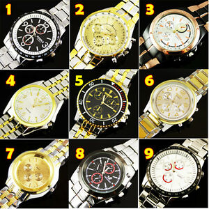 FREE-SHIPPING-Hot-NEW-LUXURY-WATCHES-MENS-QUARTZ-STAINLESS-STEEL-WRIST-WATCHES