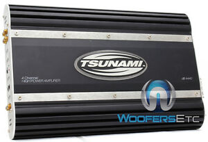 REFURBISHED-TSUNAMI-DB-4440-4-CHANNEL-440W-RMS-CAR-SPEAKERS-COMPONENTS-AMPLIFIER