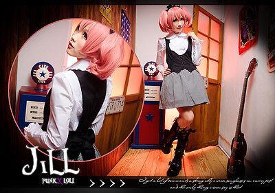 Lolita goth academy preppie librarian profressor cosplay waistcoat dress