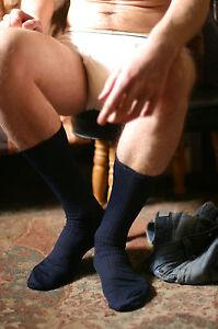 Mens-Silky-Dress-Socks-in-Navy-Blue