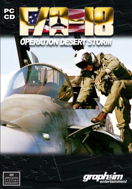 F/A-18: Operation Desert Storm (PC, DVD-Box)