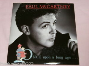 VINYL-7-034-SINGLE-PAUL-McCARTNEY-ONCE-UPON-A-LONG-AGO-R6170