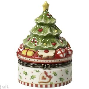 Villeroy boch winter bakery decoration christmas tree for Villeroy boch natale 2017