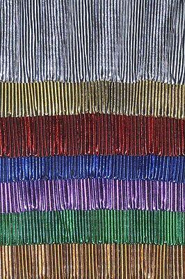 PLEATED LIQUID LAME FABRIC CHOICE OF COLOR 1 YARD COSTUME DECOR CLOTHING  DOLLS