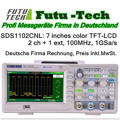 "Siglent SDS1102CNL 100MHz Oscilloscope 7"" Scre,Oszilloskope"