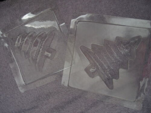 Xmas Designs * XMAS High Impact Plastic Clear Soap Moulds for Soap Making