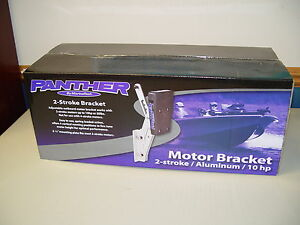 FREE SHIPPING contiguous US! Lightweight Outboard Kicker Motor Bracket, 55-0022