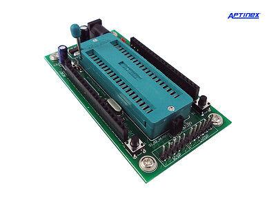 Aptinex PIC16F877A / PIC18F452 PIC Mini Development Board